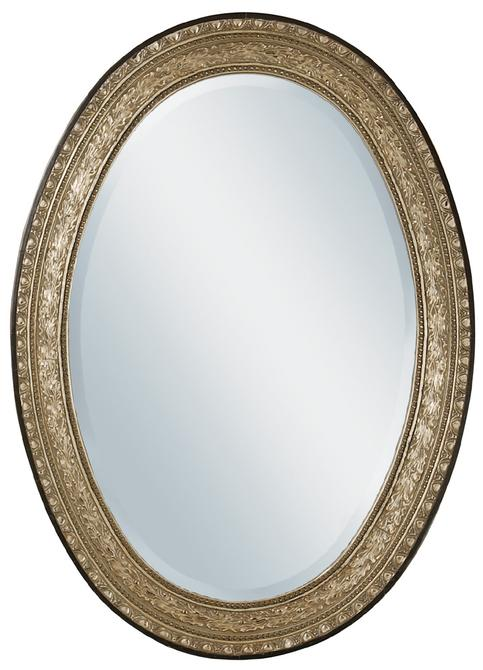 Mirrors glass antique mirrors metal framed mirrors for Oval mirror canada
